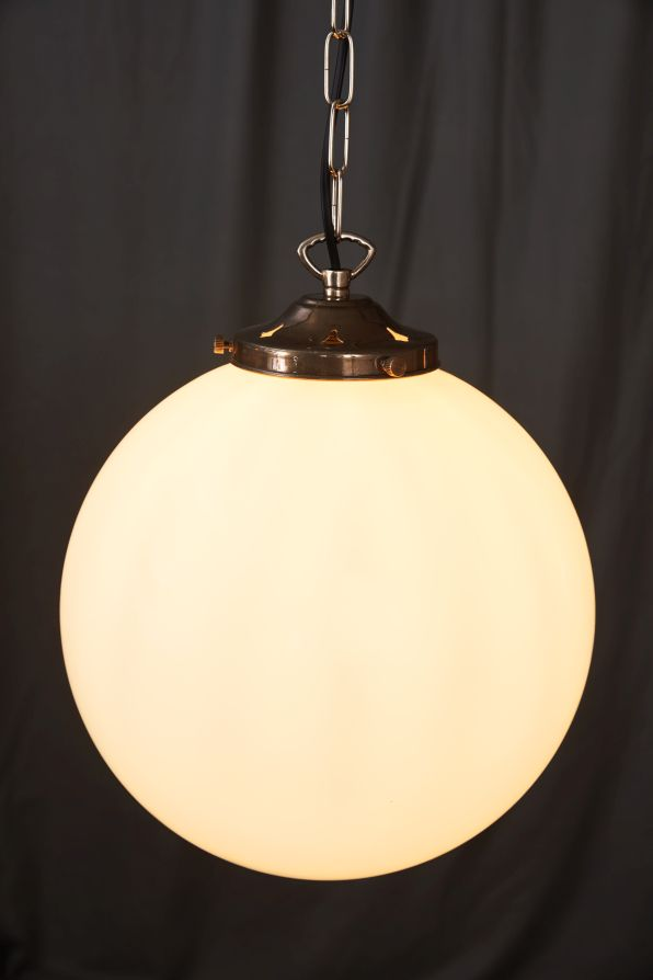 Opalglaslampe kugel 30cm antike m bel interieurs in for Raumgestaltung dresden