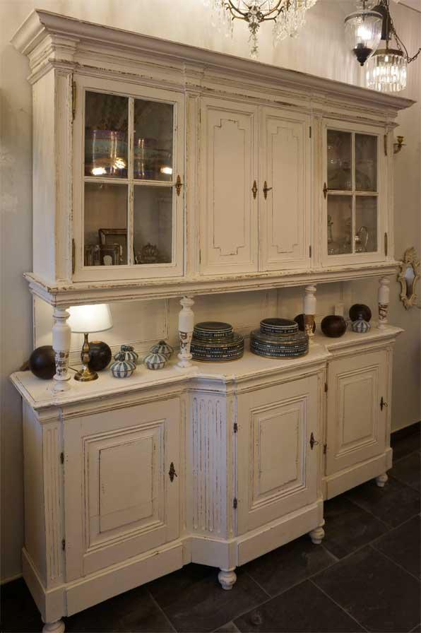 buffet alt antik weiss gross dresden 07 antike m bel interieurs in dresden eyecatcher. Black Bedroom Furniture Sets. Home Design Ideas