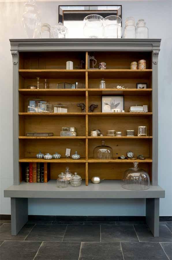 gro artiges b cherregal antike m bel interieurs in dresden eyecatcher exklusives wohnen. Black Bedroom Furniture Sets. Home Design Ideas