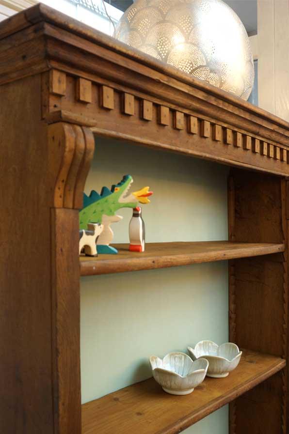 vielseitiges Holzregal - Antike Möbel & Interieurs in ...